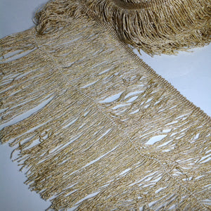 Astrid Golden Fringing
