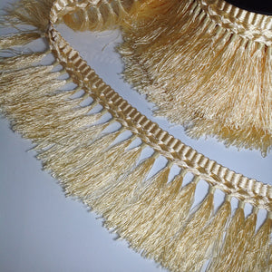 Ashlin Golden Tassel Fringing Trim