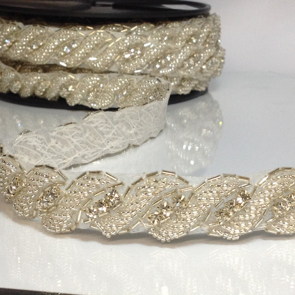 #YT203643 Crystal trim