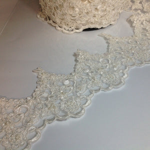 Candace Cornelli Lace with Pearl Beads