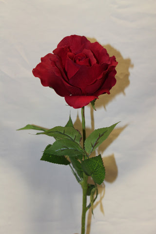 Silk Red Rose