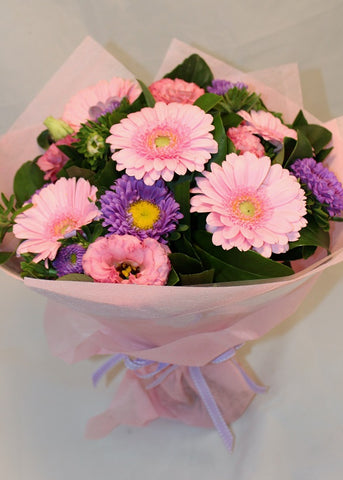 Posy of pastel colours