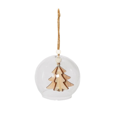 Hanging Glass Bell Decoration