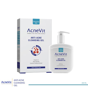 ACNEVIT CLEANSING GEL 200 ml (code 8034)