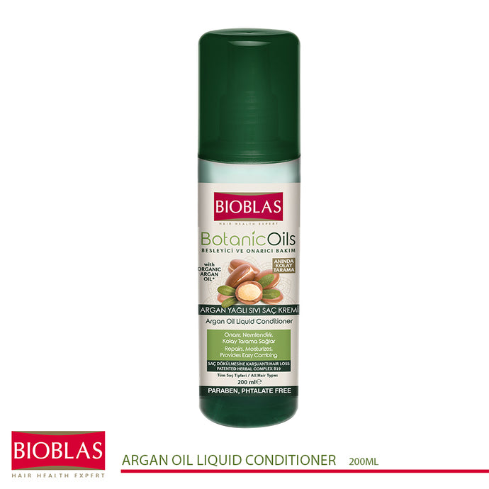 Bioblas Anti-hair Loss Argan Oil Liquid Conditioner 200ml (code 7214)