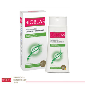 Bioblas Anti Hair Loss Shampoo+Conditioner 2in1  200ml (code 7212)