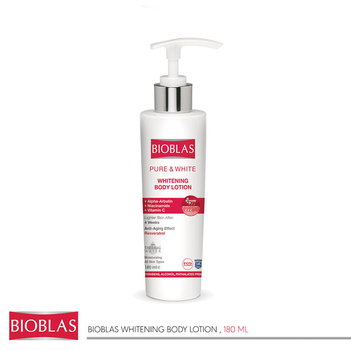 Bioblas Whitening Body Lotion 180 ml (code 7406)
