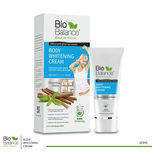 Bio Balance Body whitening Cream 60 ml (code 8011)