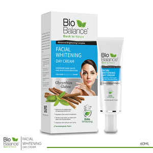 Bio Balance facial Whitening day Cream 55 ml (code 8010)