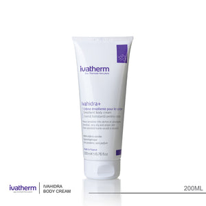Ivatherm Ivahidra+ Emollient Body Cream 200ml (code 2503)