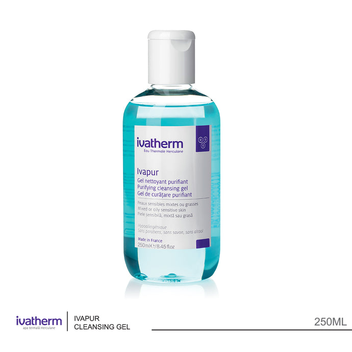 Ivatherm Ivapur Purifying Cleansing Gel 250ml (code 2501)