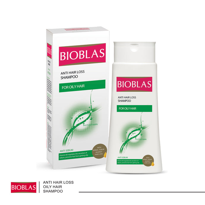 Bioblas Anti-hair Loss Shampoo for Oily Hair 200ml (code 7211)
