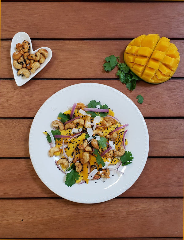 Mango Cashew Salad | A travel-lust-inspired recipe.