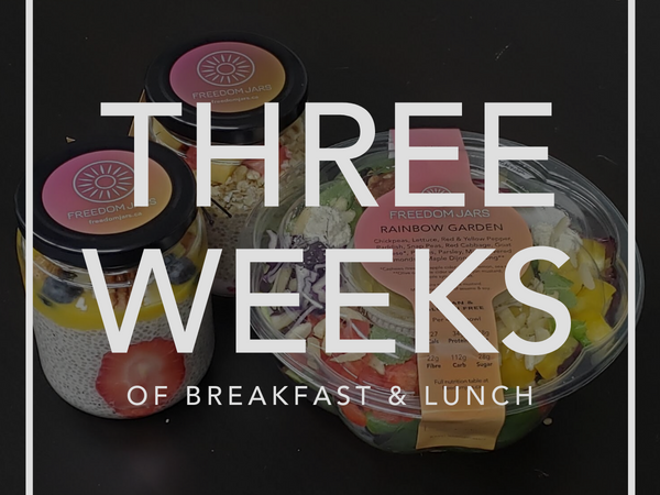 Three Weeks of Breakfast & Lunch Meals