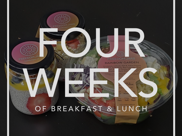 Four Weeks of Breakfast & Lunch Meals