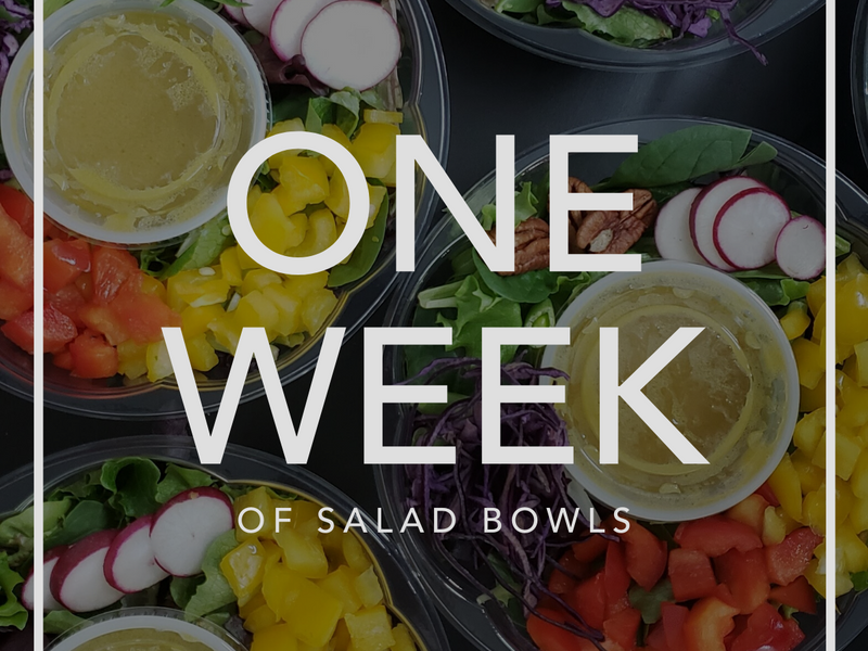 One Week of Salad Bowls