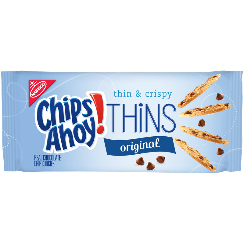 CHIPS AHOY Thins Chocolate Chip Cookies 7 oz