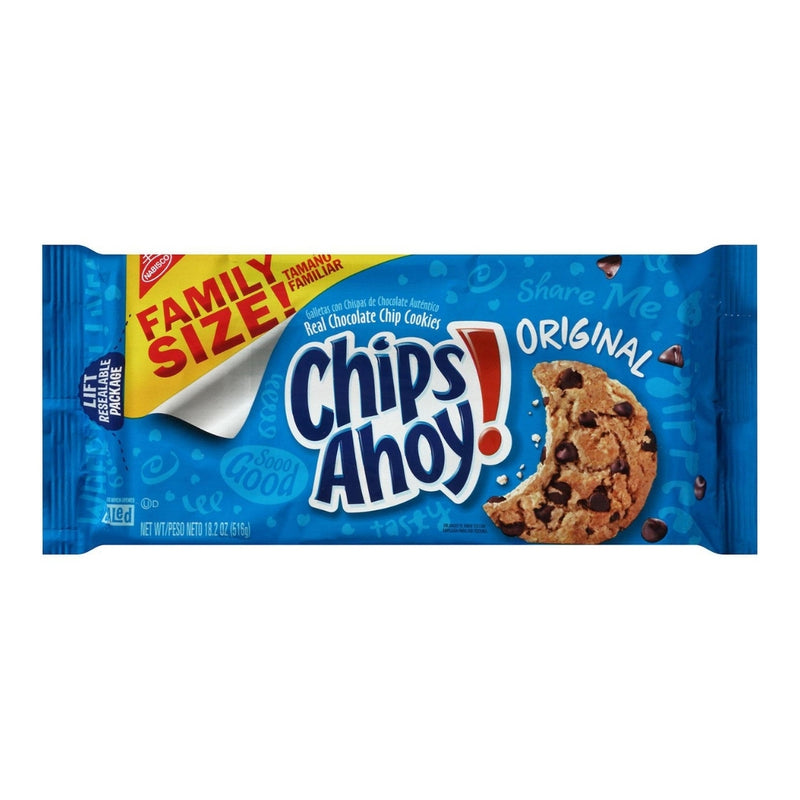 CHIPS AHOY! Chocolate Chip Cookies (3 Family Size Packs)