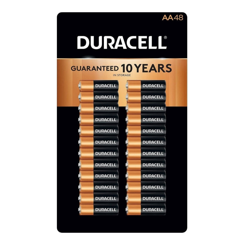 Duracell Alkaline AA Batteries - 48 ct