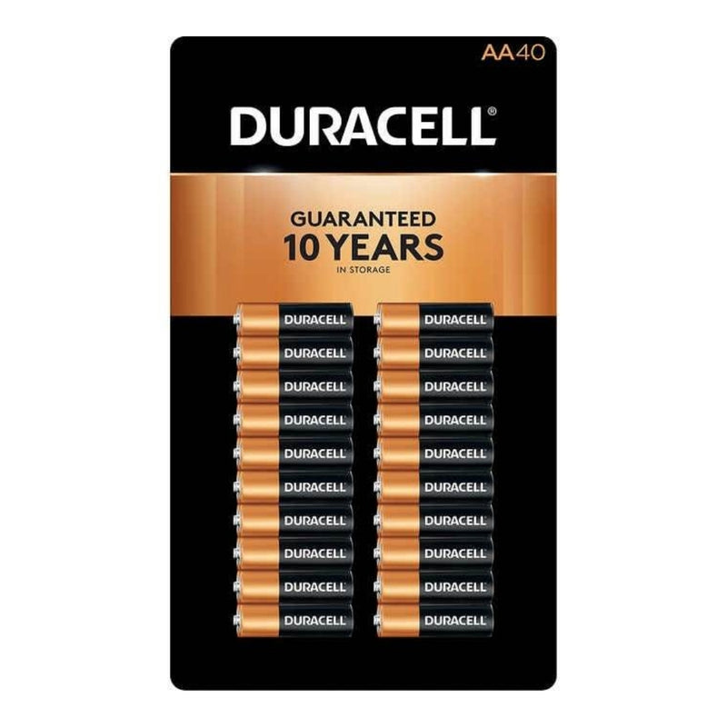Duracell CopperTop AA Alkaline Batteries - 40 count