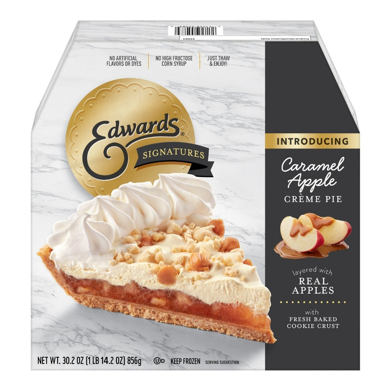Edwards Caramel Apple Creme Pie