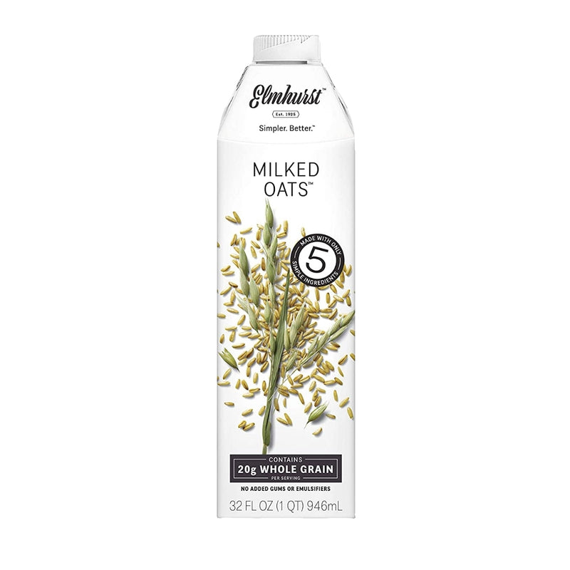 Elmhurst Oat Milk 6 pack 32 oz