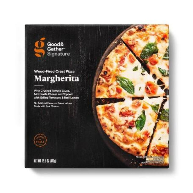 Good & Gather Signature Wood-Fired Margherita Frozen Pizza - 15.5oz