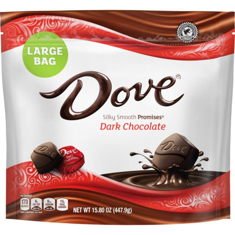 Dove Dark Chocolate 15.80 oz