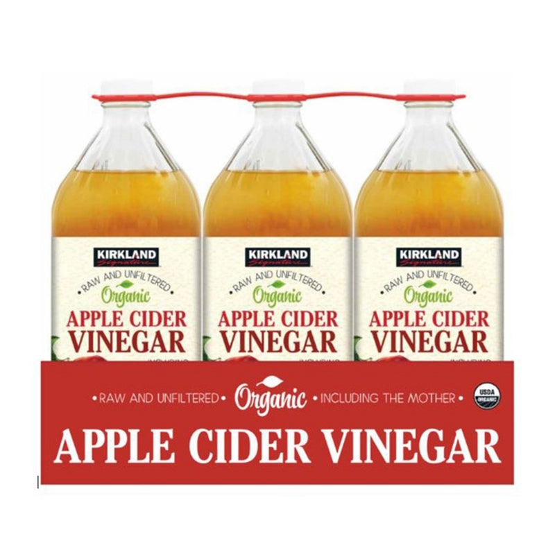 Kirkland Signature Apple Cider Vinager 3 pack