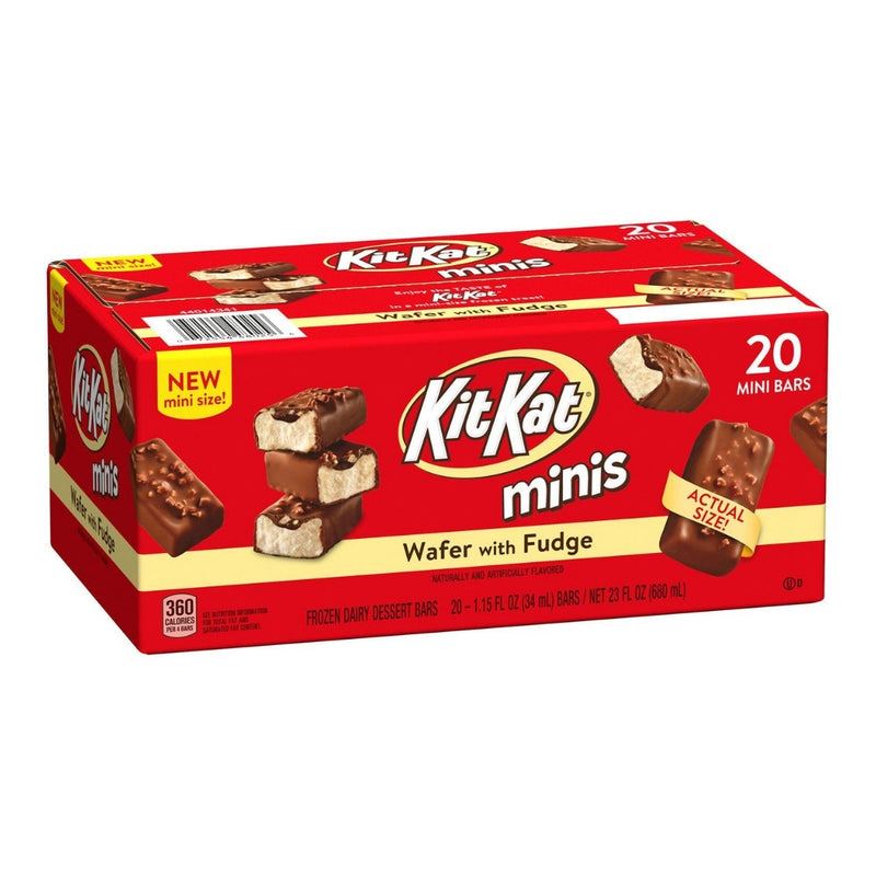 Kit Kat Minis Ice Cream Bars 20 ct