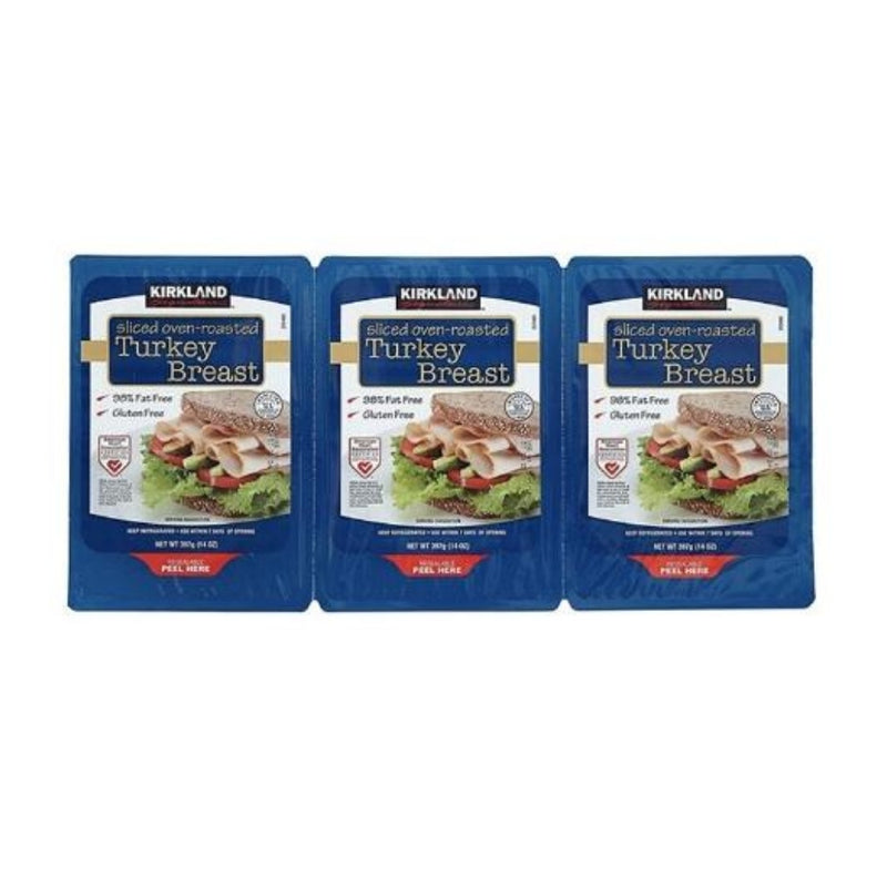 KS Sliced Turkey Breast - 14 oz/ 3 Pack