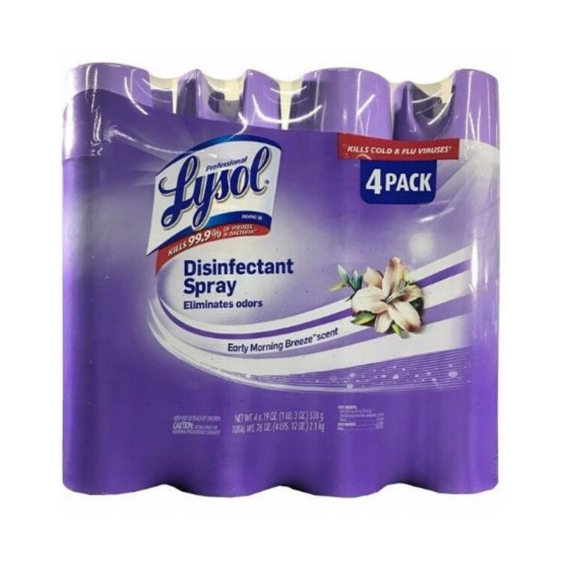 Lysol Disinfecting Spray - 4 Pack
