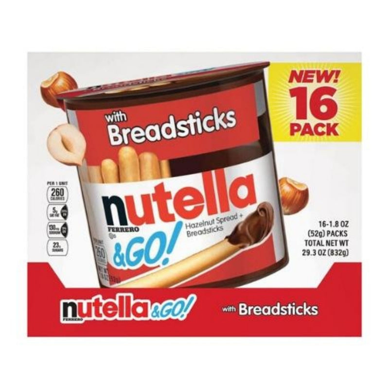 Nutella & Go Sticks 16 Pack