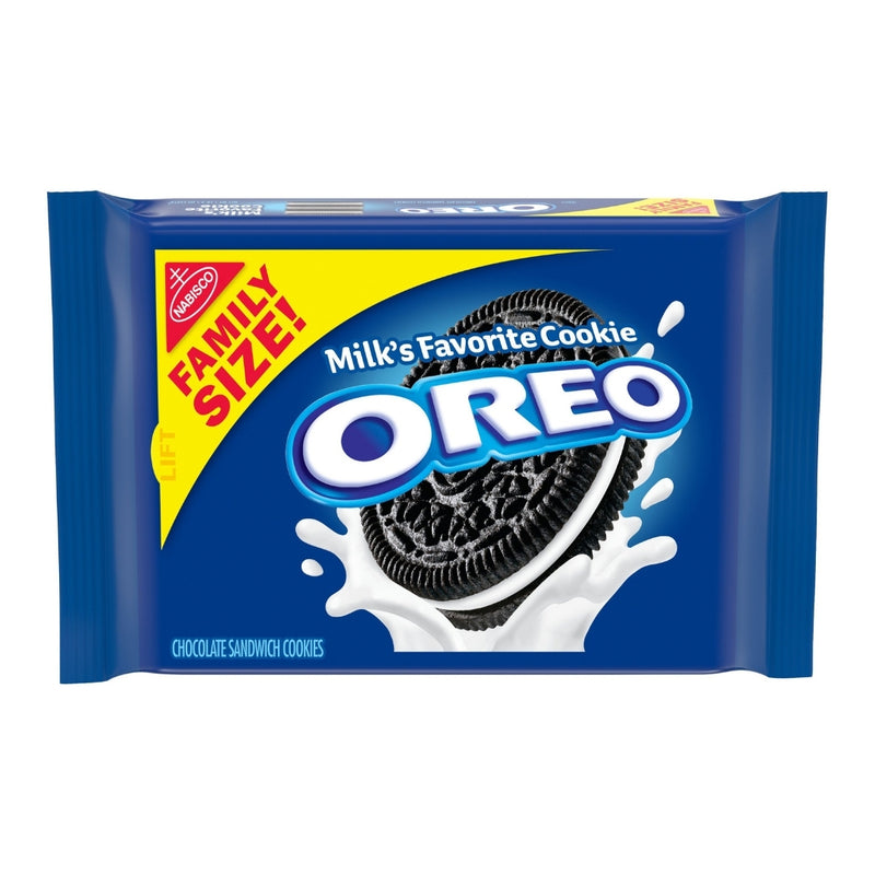 OREO Chocolate Sandwich Cookies, Family Size