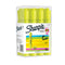 Sharpie Tank Highlighters, Chisel Tip, Fluorescent Yellow, 12 Count