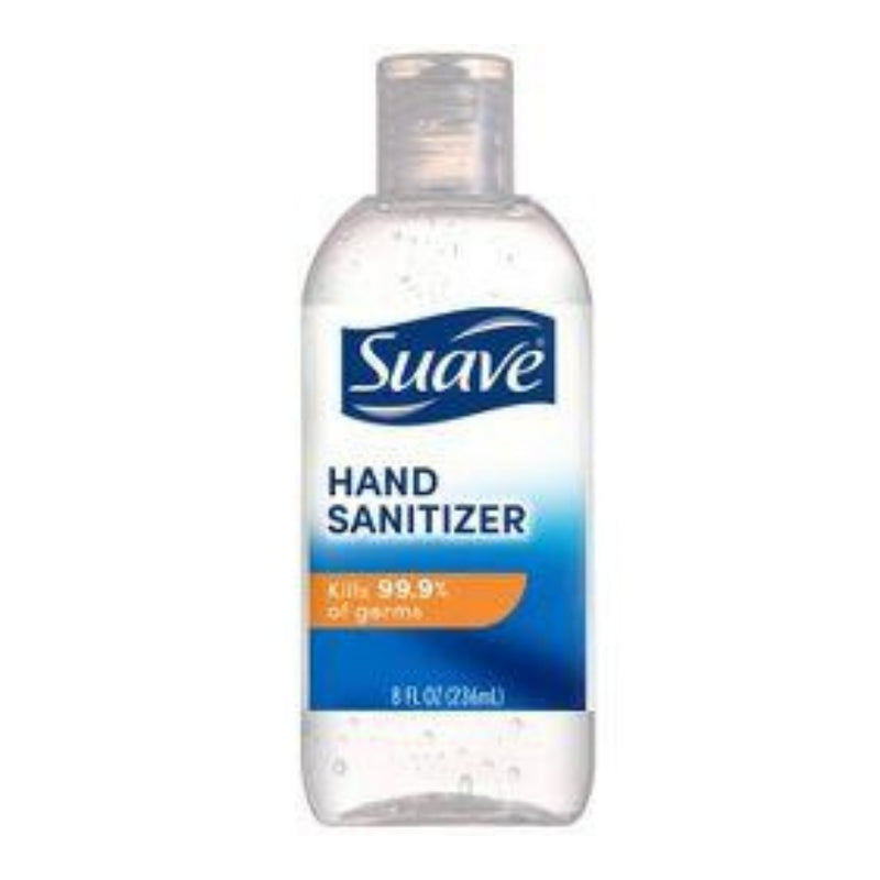 Suave Hand Sanitizer Alcohol Based 8 oz