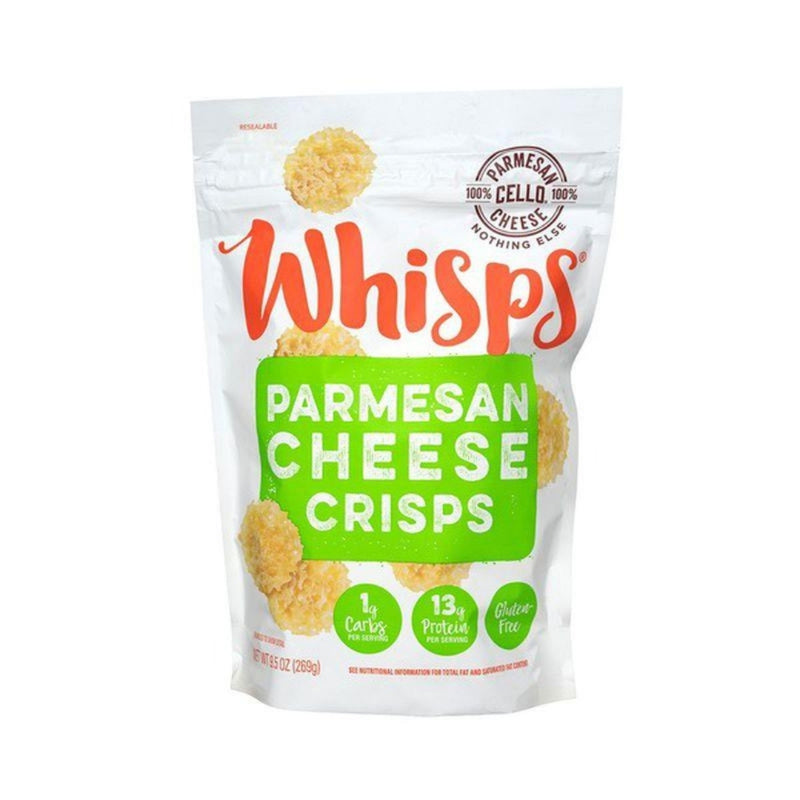 Whisps Parmesan Cheese Crisps 8 oz
