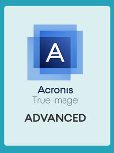 Acronis True Image Advanced with Cloud Storage [3 Computers] | Subscription