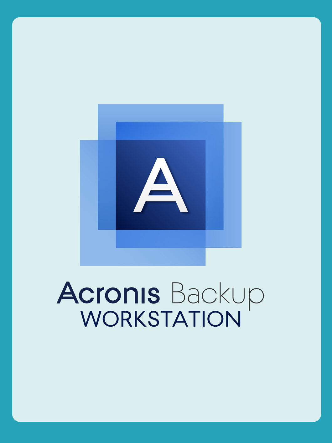 Acronis Cyber Backup 12.5 Advanced Workstation | 1YR Subscription License
