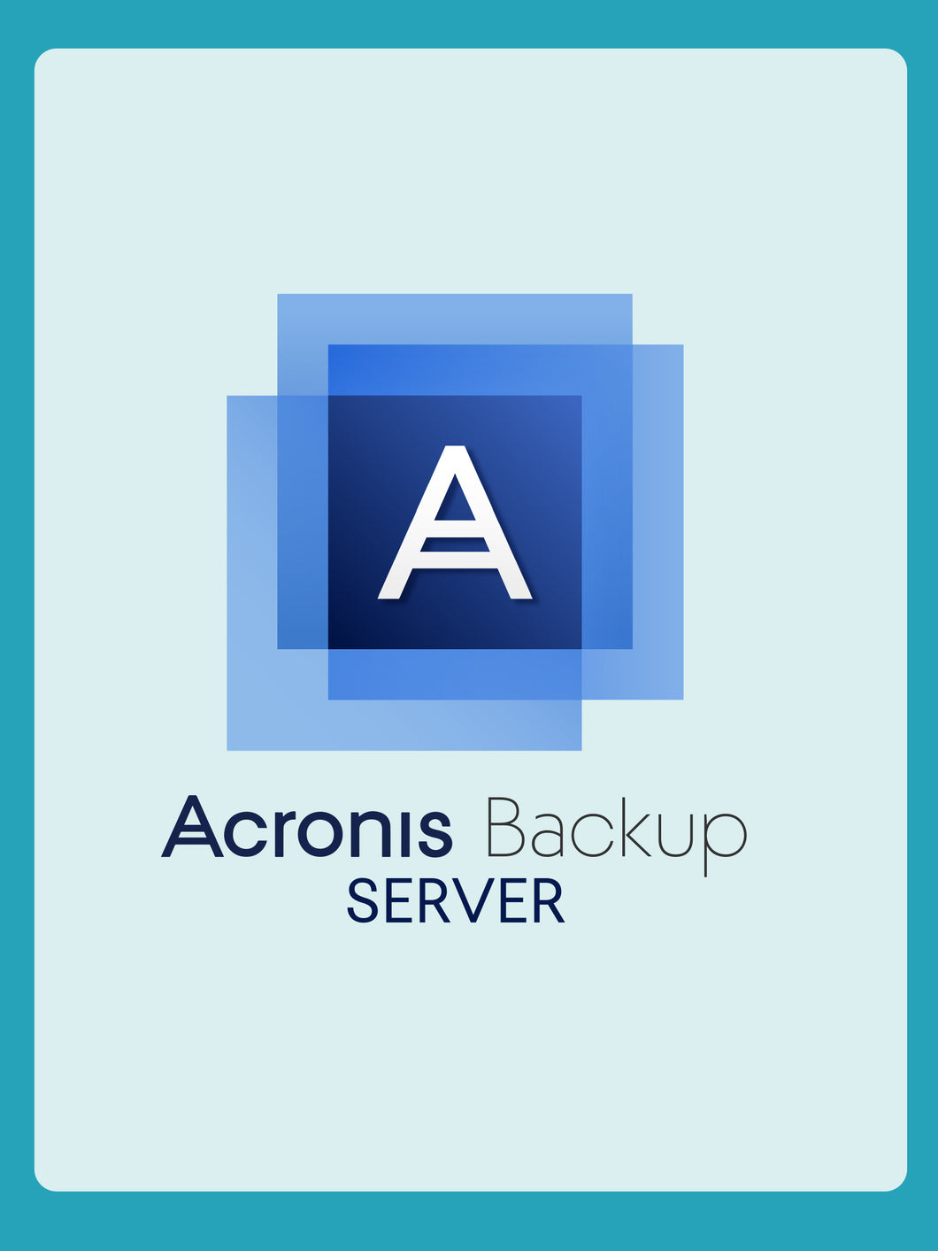 Acronis Cyber Backup 12.5 Advanced Server  | 1YR Subscription License