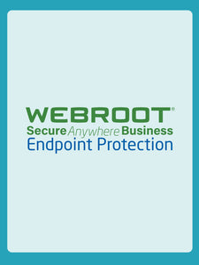 Webroot Endpoint Protection with Global Site Manager (GSM) | Businesses - 1YR Subscription