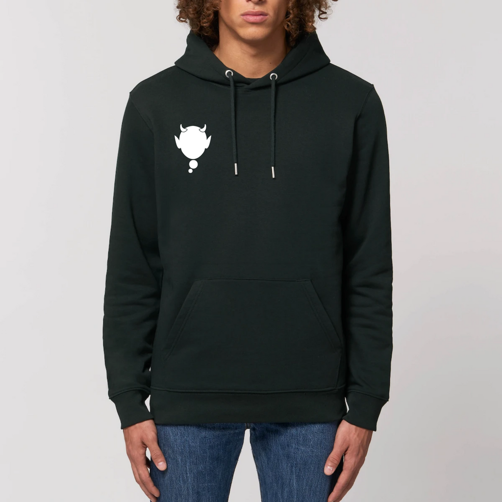 Bubblenerd Basic White Hoodie Cruiser
