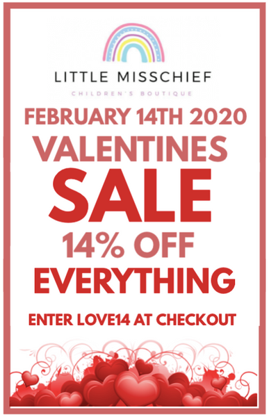 Love is in the air (Save 14% off all orders)