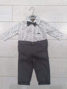 Little Gents Shirt and Jeans set with