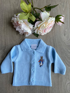 Dandelion Peter Rabbit Blue Cardigan