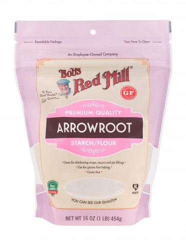 Gluten Free Arrowroot Starch/Flour- Bobs Red Mill