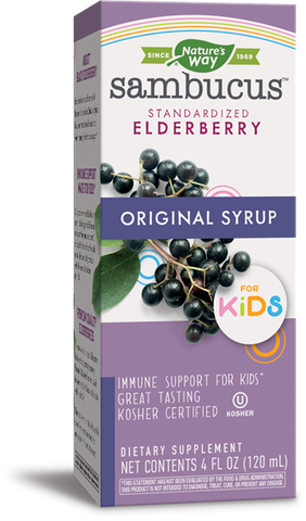 SAMBUCUS KIDS ORIGINAL SYRUP 4OZ-NATURE'S WAY