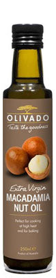 MACADAMIA NUT OIL EXTRA VIRGIN 8.45 FL OZ - OLIVADO