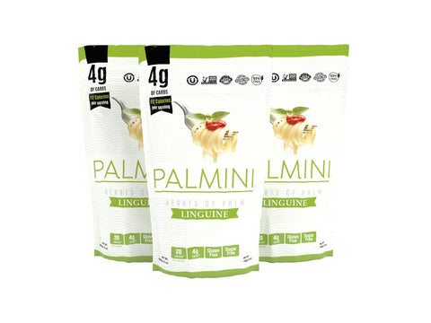 HEART OF PALM POUCH PASTA 12OZ LOW CARB-PALMINI