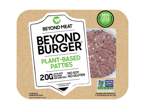 BEYOND BURGER 8OZ- BEYOND MEAT